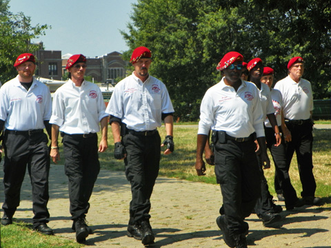 The Guardian Angels have returned to Baltimore